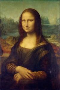 Leonardo da Vinci-La Gioconda