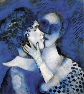 Gli amanti in blu