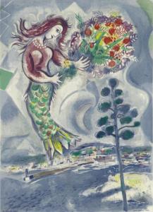 Sirena con il pino