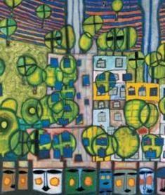 Hundertwasser, colore e natura a Vienna