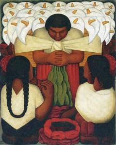 Diego Rivera - Il festival dei fiori