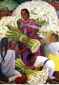 Diego Rivera - La venditrice di fiori